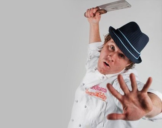 Chef Roger Feely. - SOUL COCINA