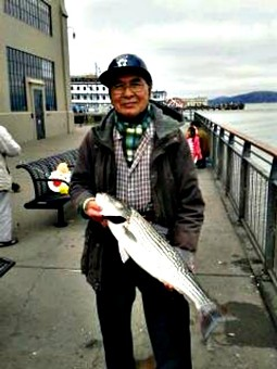 Cheng Jin Lai's hobbies included fishing and cycling. The latter would lead to tragedy. - LEFT: EVAN DUCHARME. RIGHT: KTVU-TV