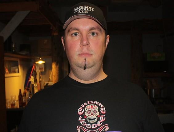 Cherry Voodoo faceman Yuri Green wants to fuck you up. - BRIAN YAEGER