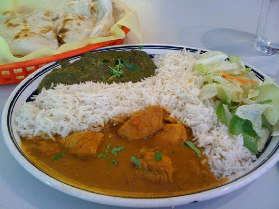 Chicken curry special ($6.99). Whoa. - JONATHAN KAUFFMAN