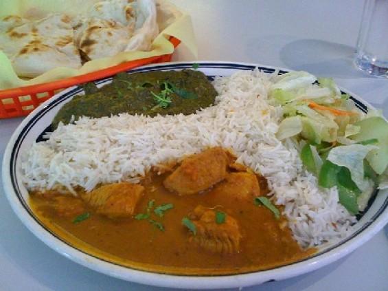 Chicken curry special ($6.99). Whoa. - JONATHAN KAUFFMAN