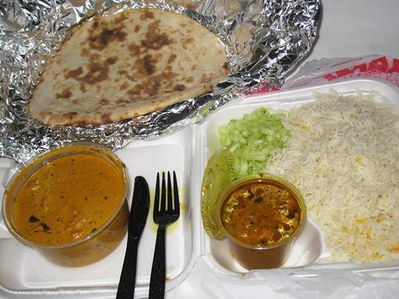 Chicken tikka masala dinner at Tandoori Oven. - LUIS CHONG