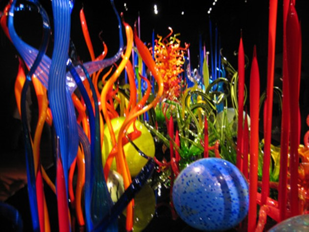 Chihuly Opening Weekend at de Young