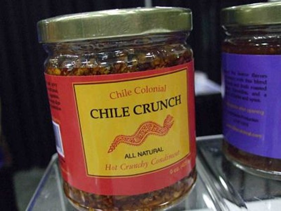 Chile Colonial Chile Crunch: All you need is a spoon. - T. PALMER