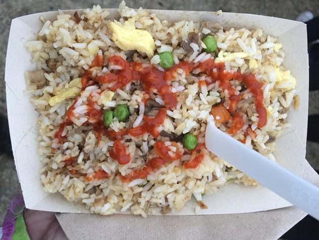 Chino's secret menu fried rice. - PETE KANE
