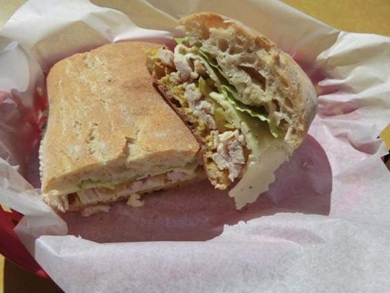 Chiotras' Turkey Sandwich - ALEX HOCHMAN