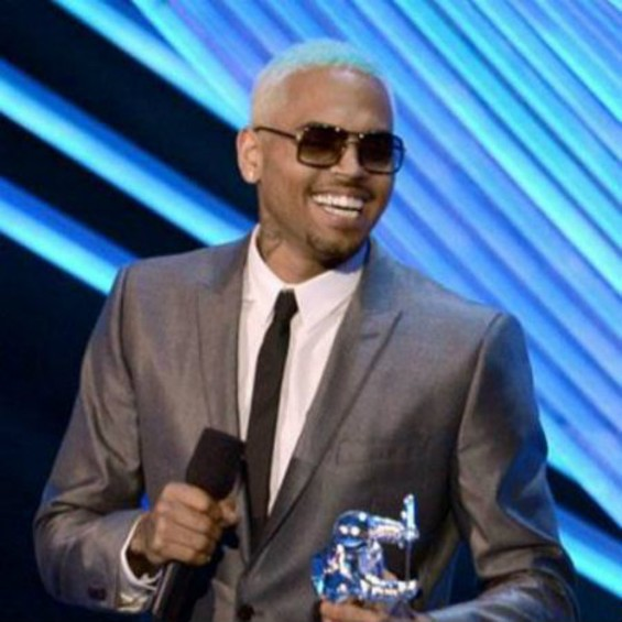 Chris Brown at the VMAs