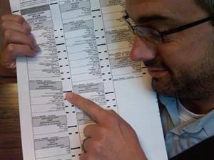 Chris Daly shows 'em how to vote...