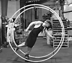 LARRY  ROSENBERG - Chris Lashua takes a spin on the German - wheel.