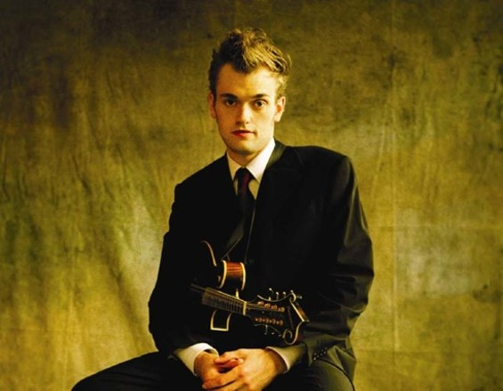 Chris Thile, mandolinist and mixologist