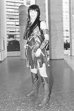 PAUL  TRAPANI - Christina Hawran as Xena, Warrior Princess