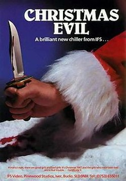 Christmas Evil shows at the Dark Room Theater on December 23 as part of its Bad Movie Night.