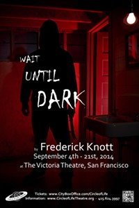 """Circle of Life's """"Wait Until Dark"""": Theater Company Casts Blind Actresses in Blind Role"""