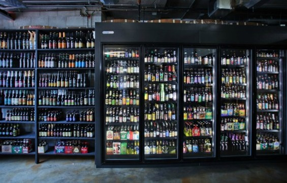 City Beer Store's impressive bottle selection. - FACEBOOK/CITY BEER STORE
