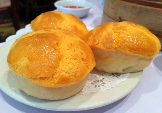 City View's custard buns. - JONATHAN KAUFFMAN