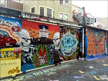 Clarion Alley - VIA CAMP'S FACEBOOK
