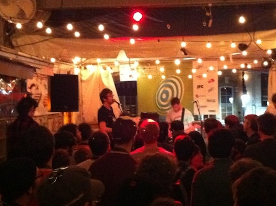 Cloud Nothings. You didn't miss much.