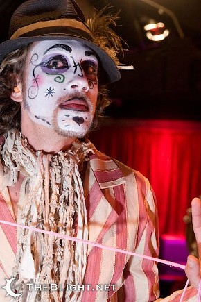 Clowns like this Lucent Dossier dude are scary. So are half the cheftestants on Just Desserts. - MR. NIGHTSHADE/FLICKR