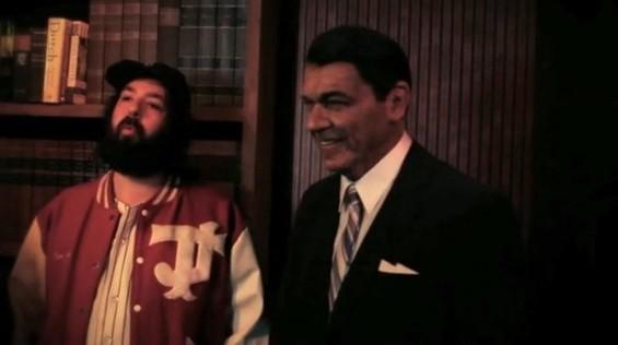 Cohen and Reagan, a weird juxtaposition