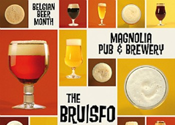 Combat the Fall Doldrums with the 'BRU/SFO' Belgian Beer Month