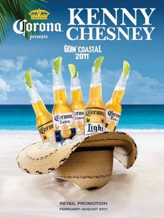 Coming next: An antitrust suit to prvent Kenny Chesney from merging with Blake Shelton