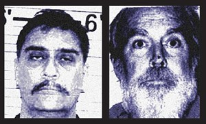 Convicted child molesters Rex Anderson (left) and Henry Parson were awarded custody of their daughters in family court