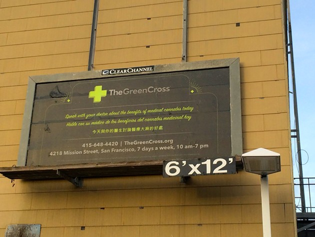 Corporate cannabis flies in SF. - COURTESY/THE GREEN CROSS
