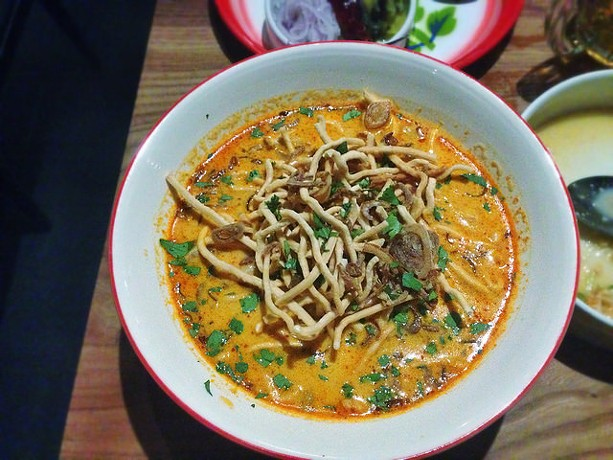 Could Kin Khao's khao soi gai help them reach the top of Bon Appetit's list? - FLICKR/T.TSENG