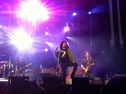 Counting Crows' Adam Duritz strikes a pose.