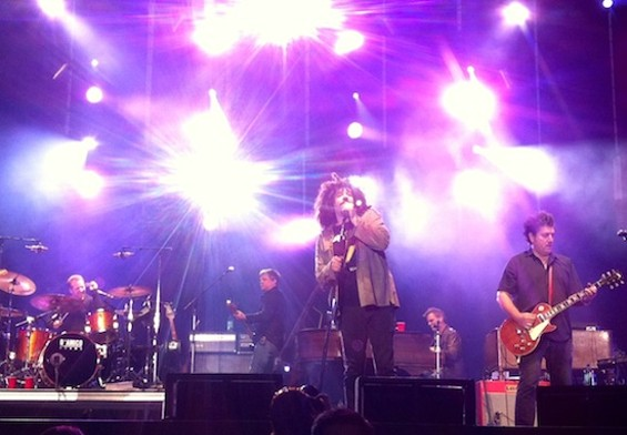 Counting Crows at America's Cup Pavilion last night.