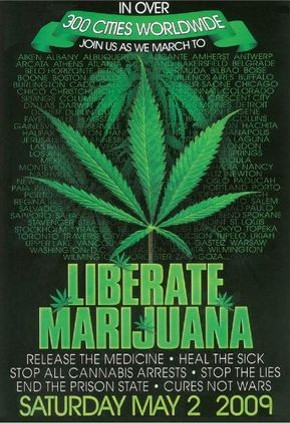 Courtesy Global Marijuana March