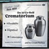 Cremation and Ice Cream in the Same Place. Finally!