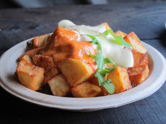 Crisp Spanish style potatoes - LOU BUSTAMANTE