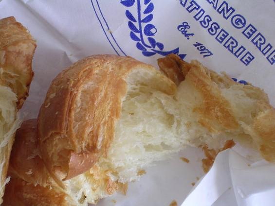 Croissant from La Farine in Oakland. - JOHN BIRDSALL