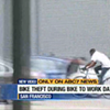 Watch This Ballsy Dude Steal a Bike During Bike to Work Day Event (Video)