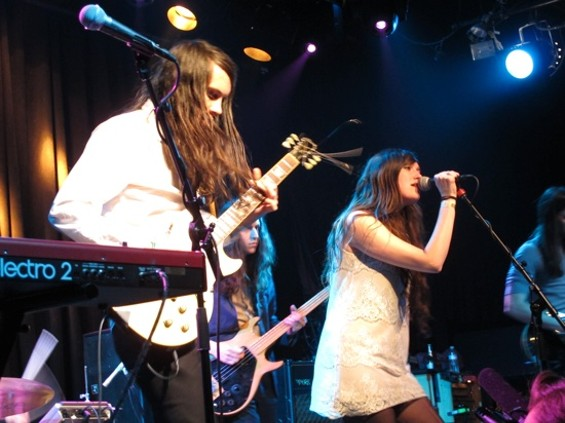Cults at the Independent last night.