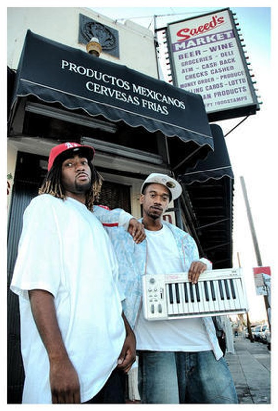 D-Lo (left) and DJ Fresh