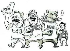Da Bears! Da beers! Old Style! DITKA!!! - FRED NOLAND