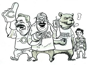 Da Bears! Da beers! Old Style! DITKA!!! - FRED NOLAND