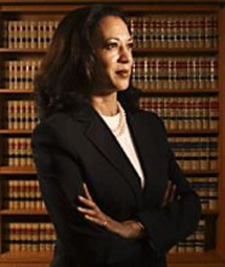 "COURTESY OF AP WORLDWIDE PHOTOS - DA Kamala Harris insists her office is ""aggressive"" in - filing - homicide cases."
