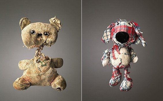 Let's celebrate our tattered teddies on National Teddy Bear Day. - IMAGE COURTESY OF MARK NIXON