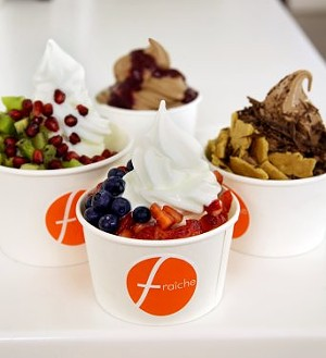 Dairy-free froyo is available at Fraiche. - FRAICHEYOGURT.COM