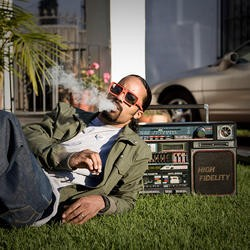 Dam-Funk plays at this year's Noise Pop festival
