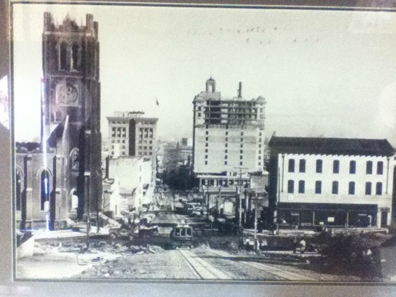 Damage done to the area after the 1906 earthquake. - ARCHIVE PHOTOS