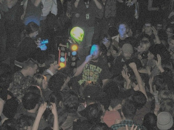 Dan Deacon and friends at the Indy last night