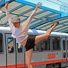 Dancers on a Train