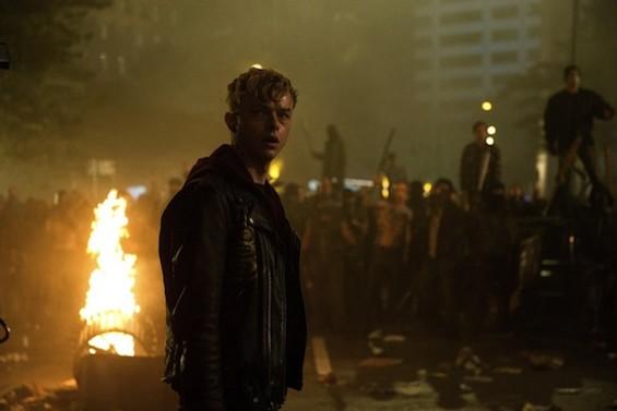 Dane DeHaan plays a Metallica roadie in the band's new film.