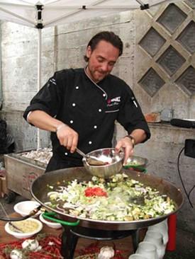 Daniel Isberg: A real live Swedish Chef. - TAMARA PALMER
