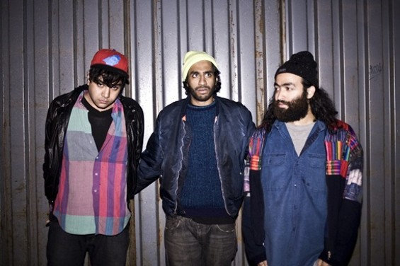 Das Racist performs tonight at Ruby Skye.