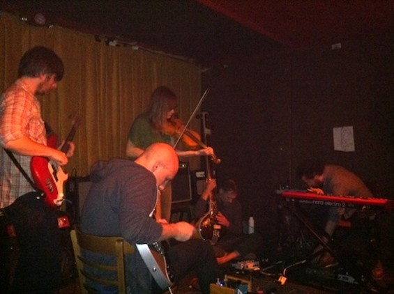 Date Palms at Hemlock Tavern. Photos by the author.